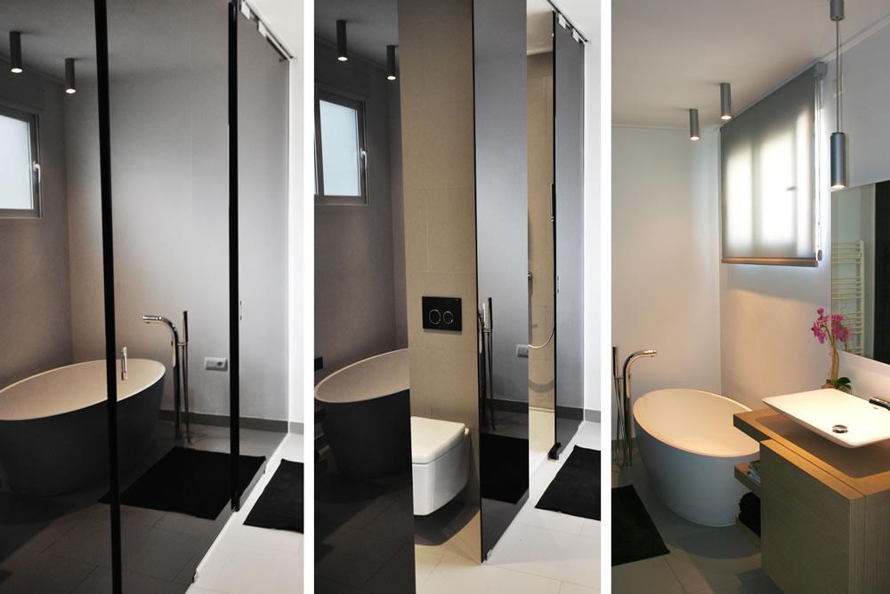 Interiorismo. Baño elegante y moderno