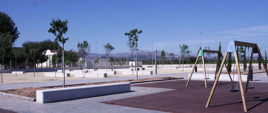 Parque urbanismo Alcudia